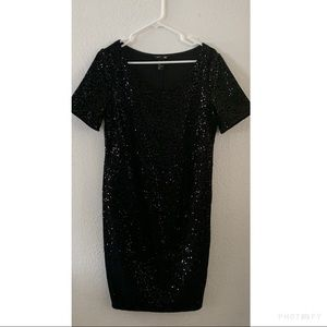 H&M Sequined Maternity Dress